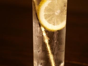 燻製レモンのレモンスカッシュ
